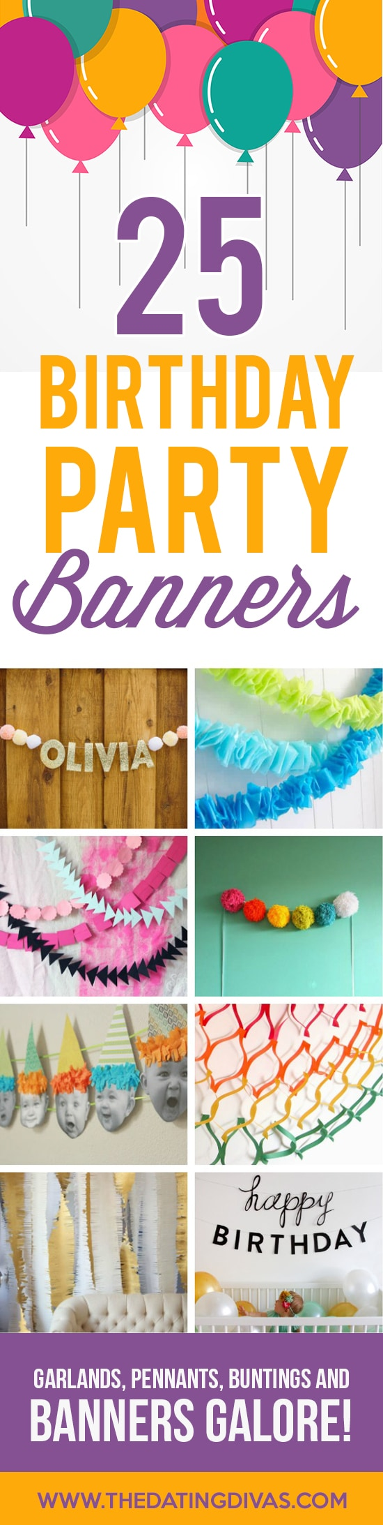 birthday decoration banner ideas