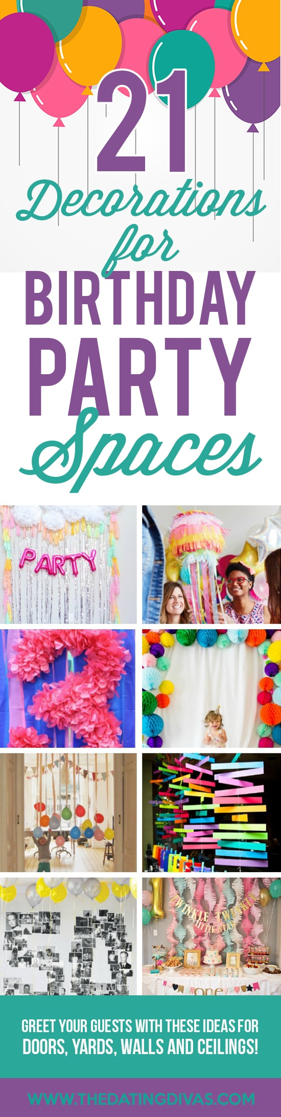 Ways to Decorate for a Birthday Party