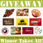 Dinner Date Gift Card Giveaway!
