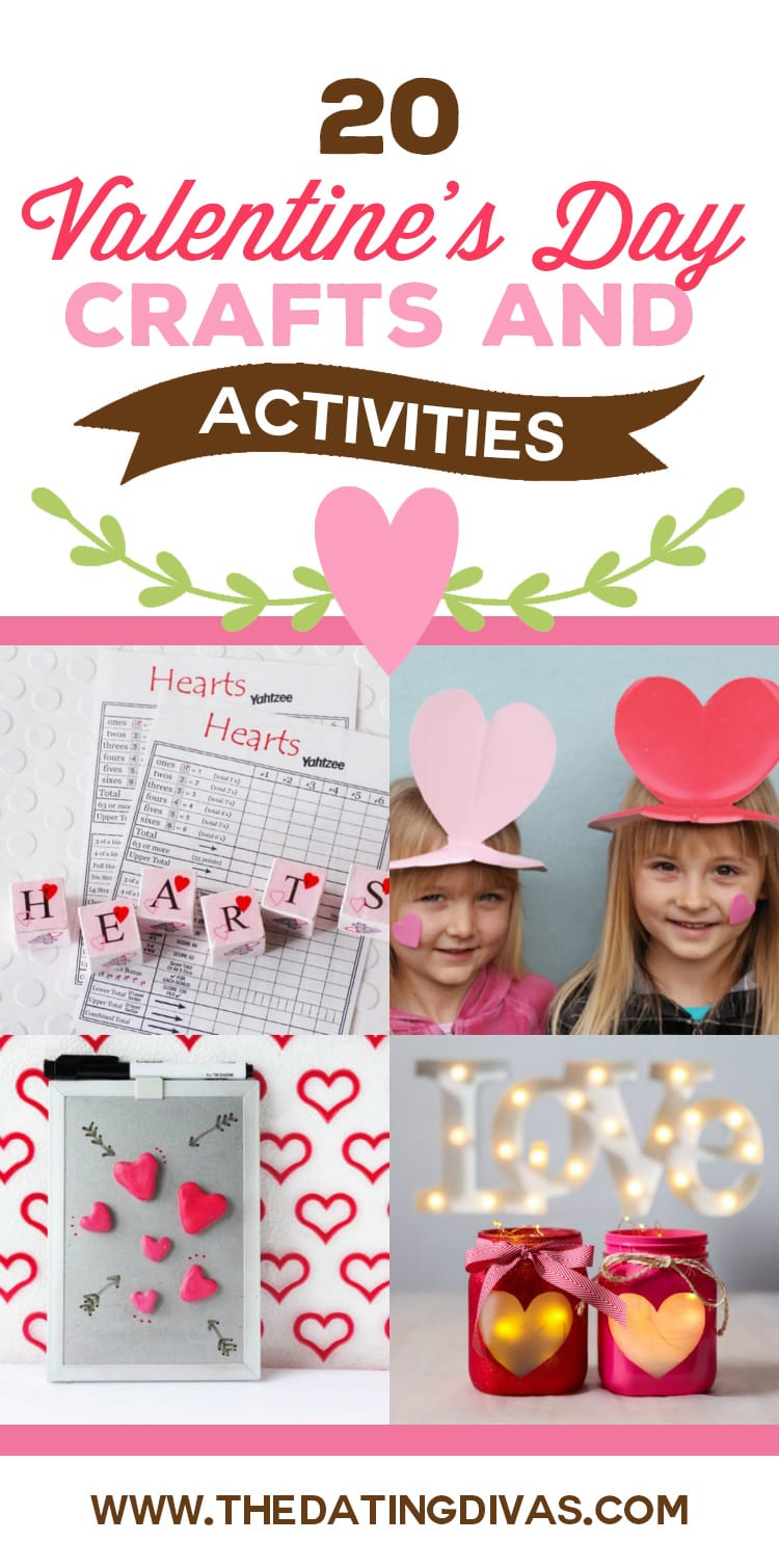 Clever Valentine's Day Crafts and Activities for kids