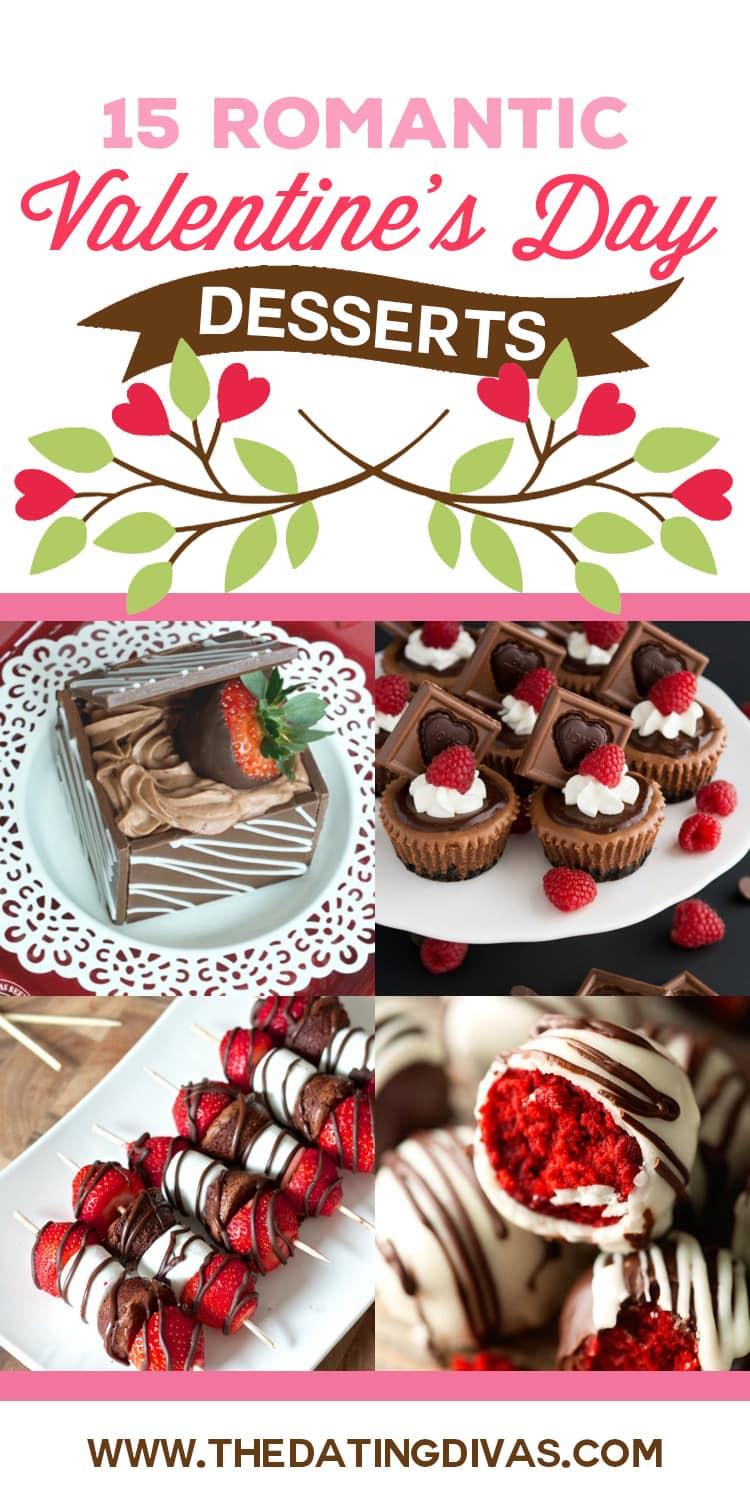 Last Minute Valentine's Day Desserts