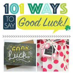 Ways To Say Good Luck