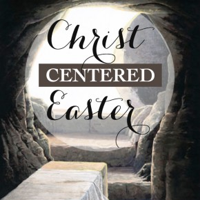 Christ centered Easter banner