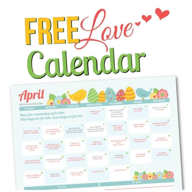 The dating divas february love calendar