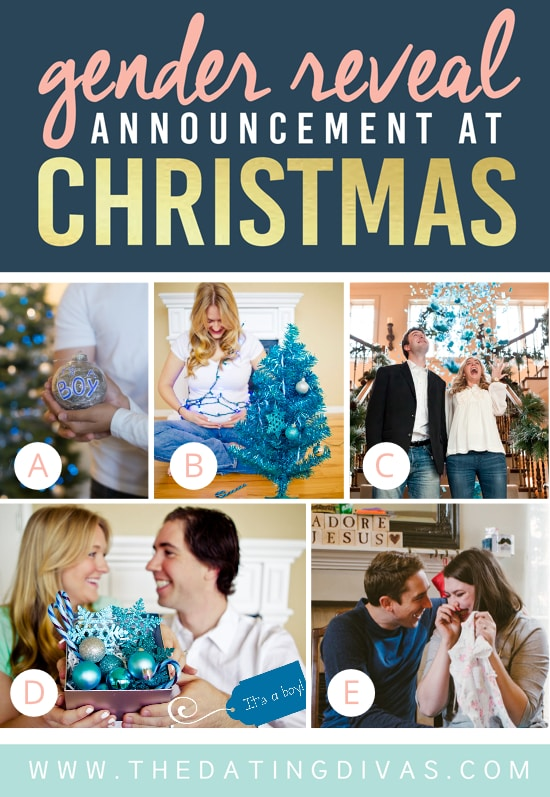 Gender Reveal Ideas for Christmas