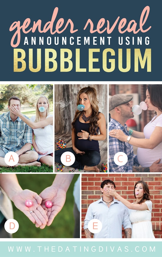 Unique Gender Reveal Ideas Using Bubblegum