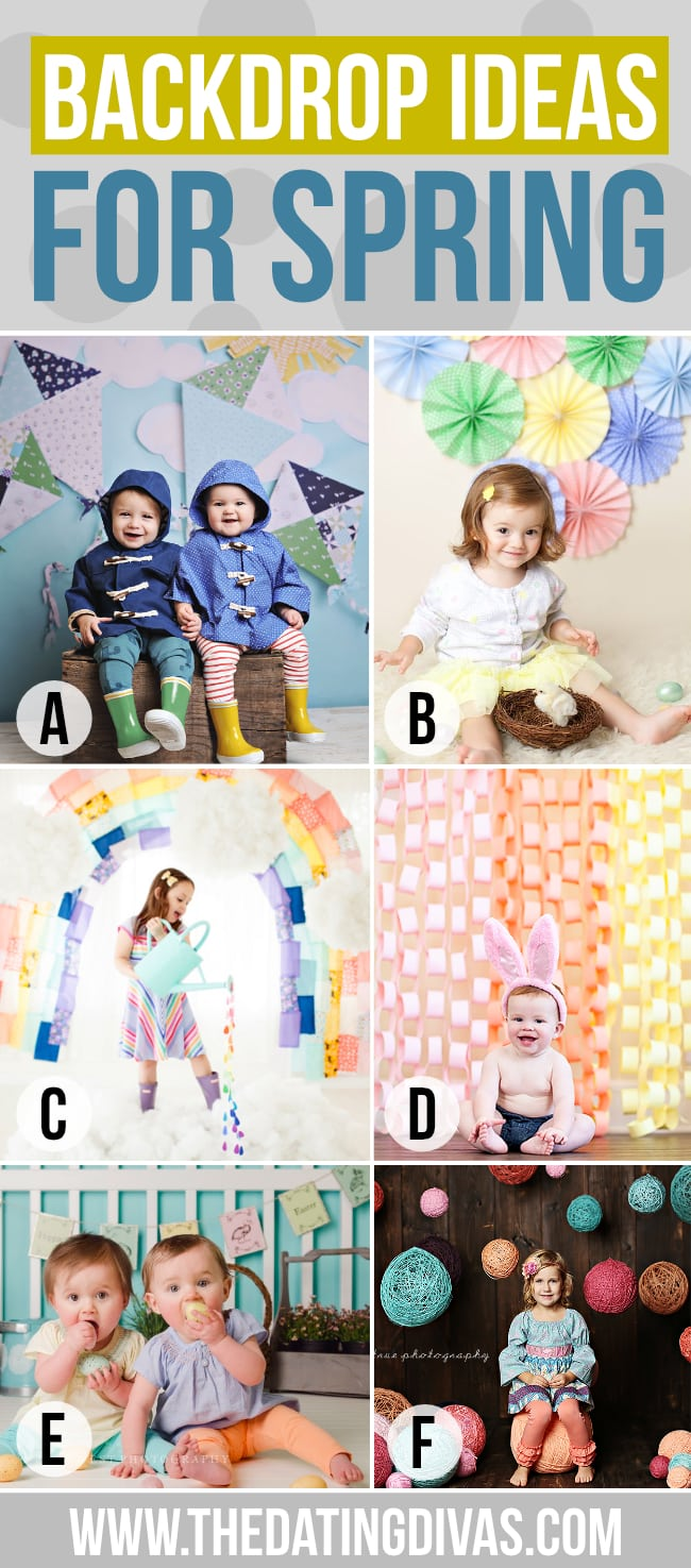 Backdrop Ideas for Spring