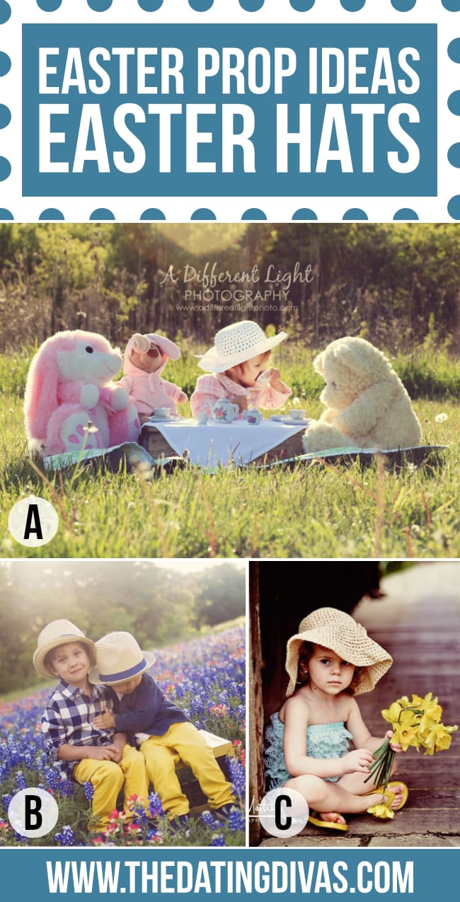 Easter Hat for a fun Easter Photo Prop