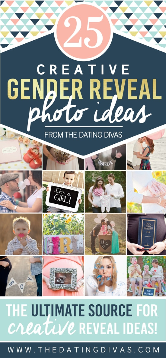 Unique Gender Reveal Photo Ideas