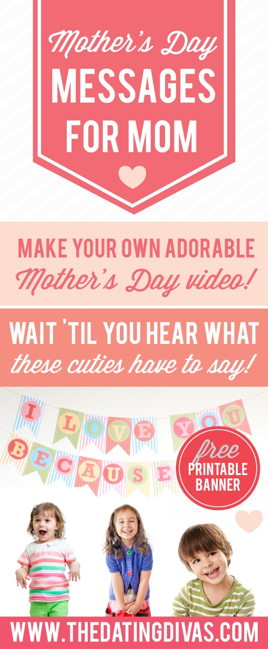 Mother's Day Video Messages for Mom