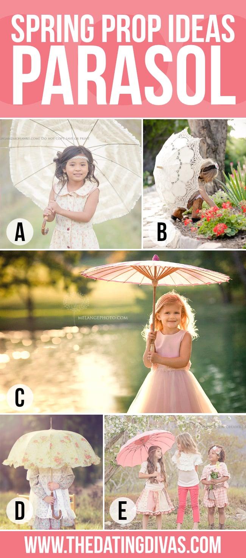 Parasol Spring Photography