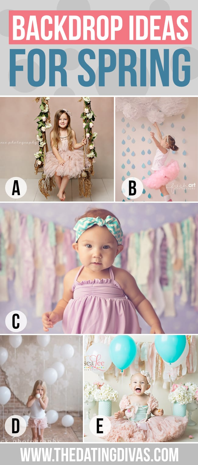 Photography Backdrop Ideas