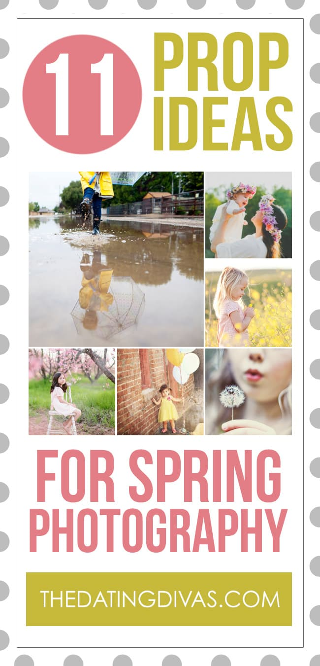 Prop Ideas for Spring Photography
