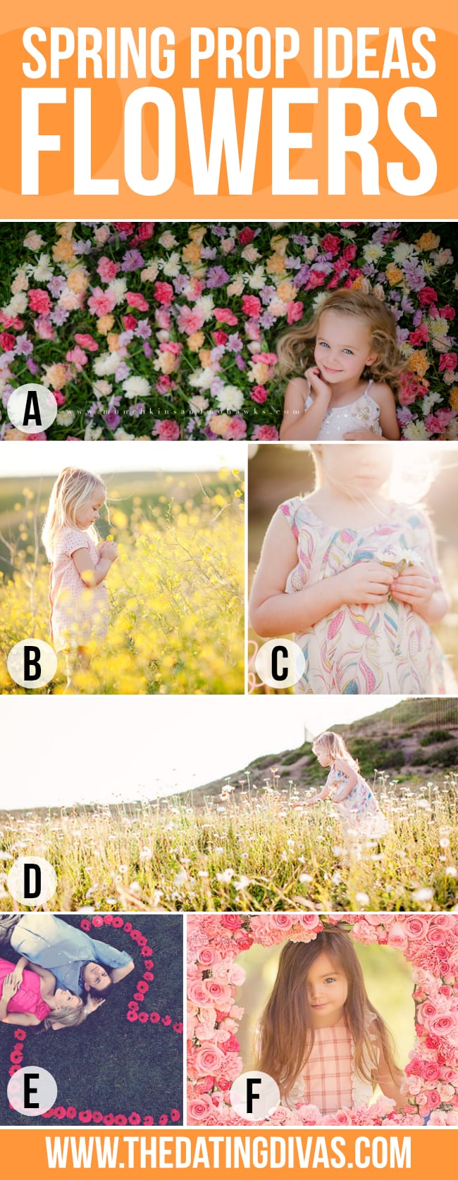 Spring Photography with Flowers