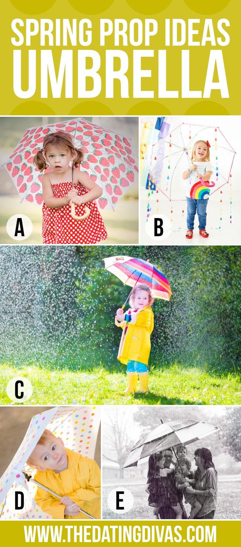 Umbrella Spring Photography
