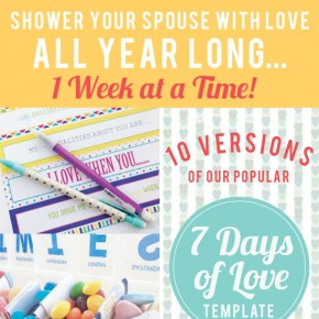 Week Long Lovin Kit for Spouse