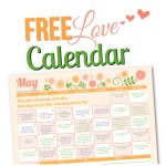 May 2015 Love Calendar