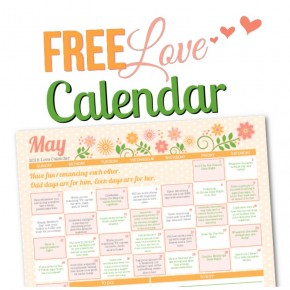 2015 May Love Calendar