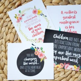 4 FREE Wall Prints- Our Mother's Day Gift to You!