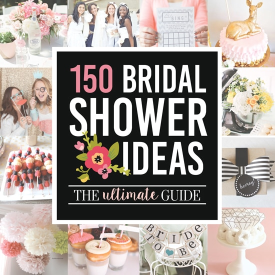 67c14dacfd3 Over 100 Bridal Shower Ideas - from The Dating Divas