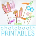 Easter Photo Booth Printables!