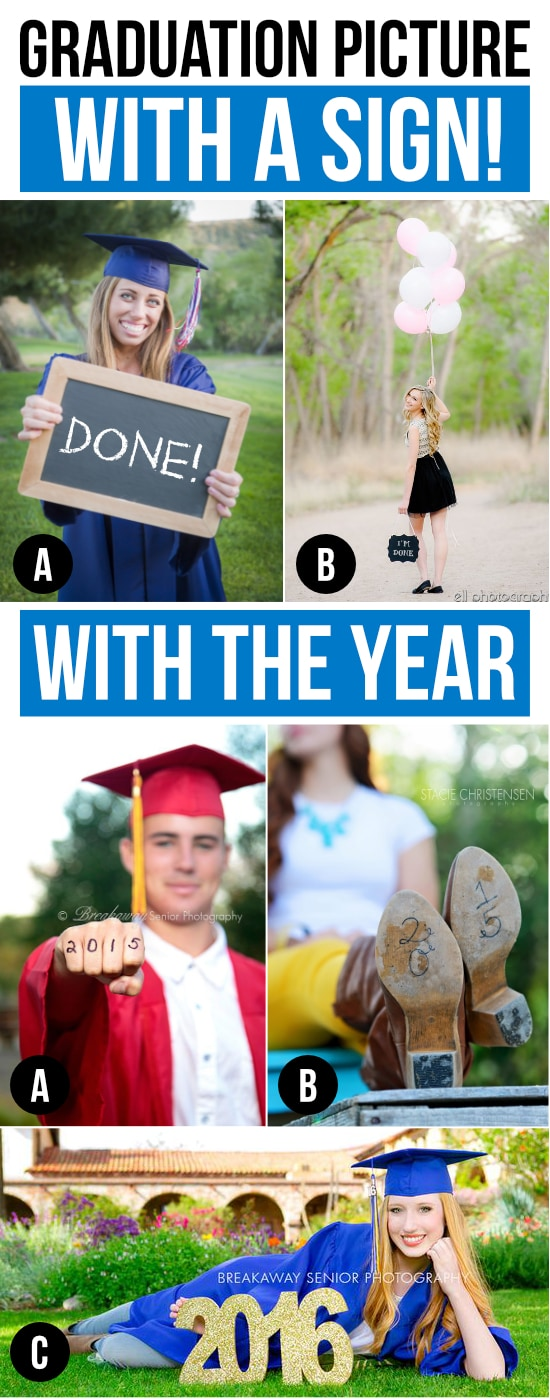 Graduation Picture Ideas