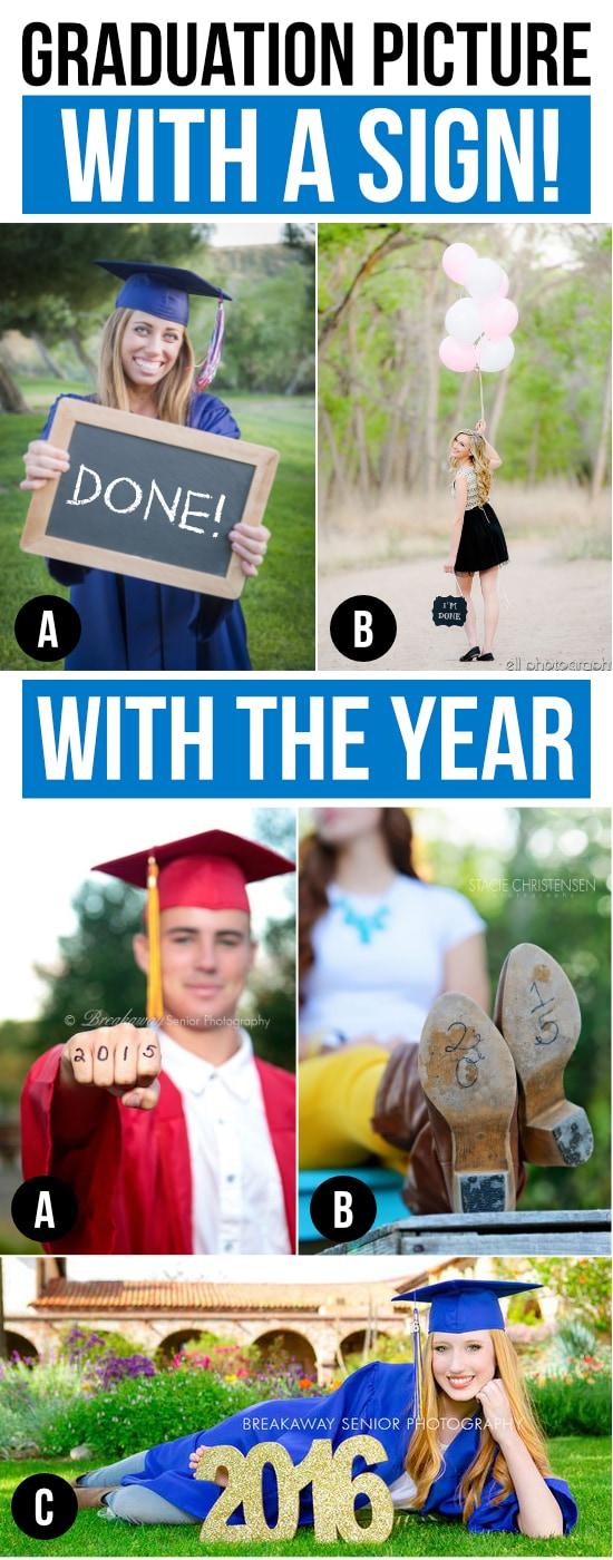 Graduation Picture Ideas
