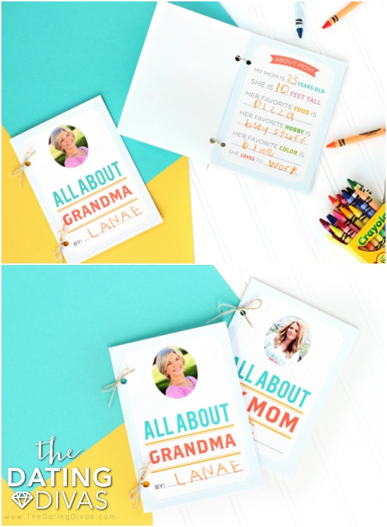 Mother's Day All About Mom Book
