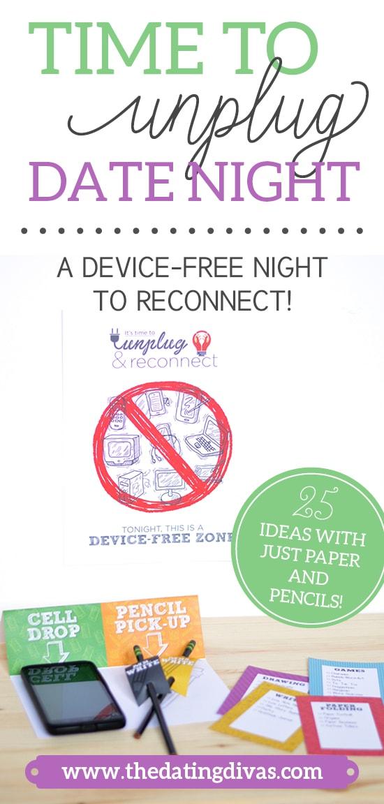 Time to Unplug Date Night Idea
