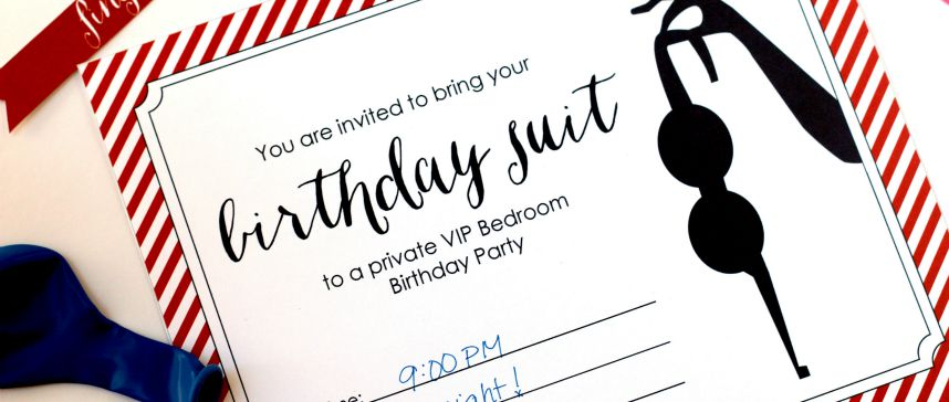 Bedroom Birthday Party