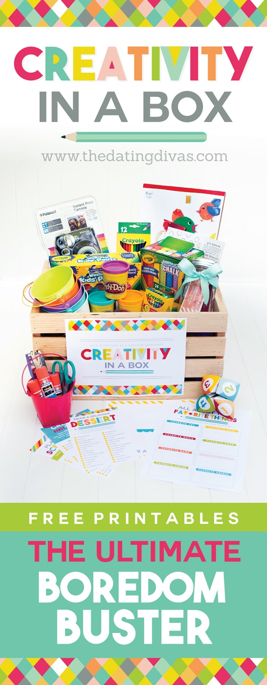 Creativity Activities in a Box for Kids