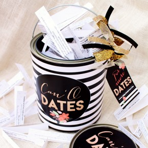 New Can O' Dates gift idea