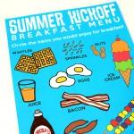 Summer Breakfast Kick-Off