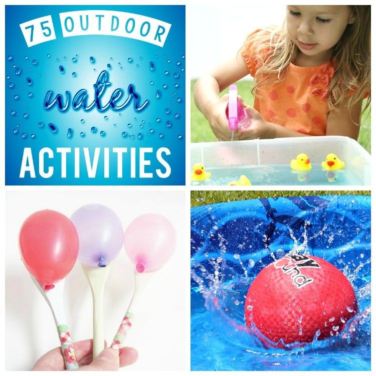 Water Activities & Games for the Whole Family! - from The Dating Divas