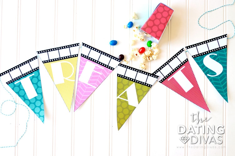 Backyard Movie Party Banner