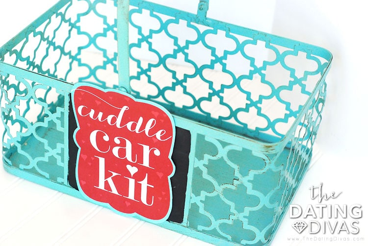 Cuddle Car Kit Basket