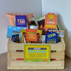 Gamer-Gift-Basket