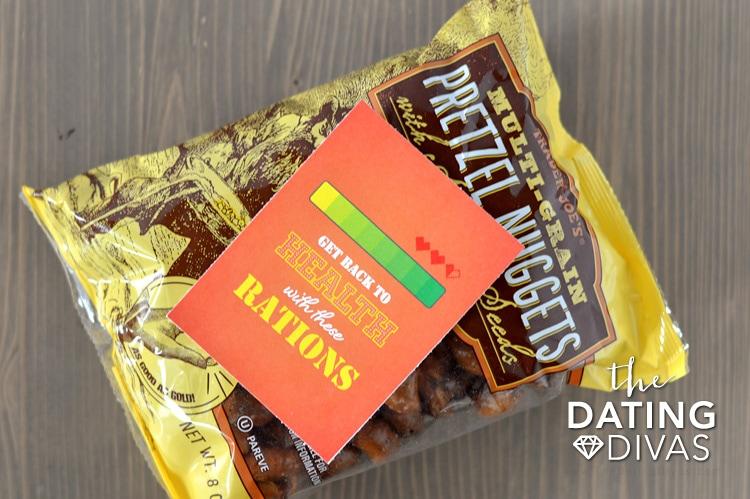 Gamer Snacks for Gamer Gift Basket