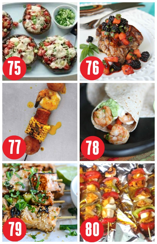 Grilled Suppers for Summer Cooking