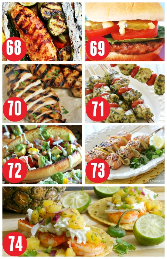 Grilled Suppers for Summer