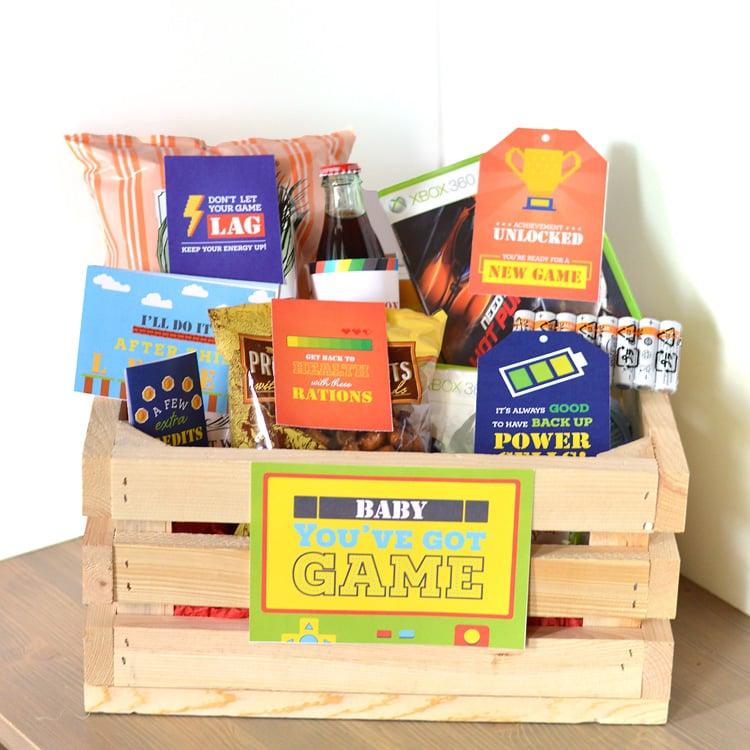 Gamer Gift Basket The Dating Divas