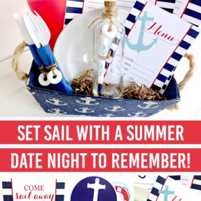 I am in LOVE with this nautical date night idea from the Dating Divas!