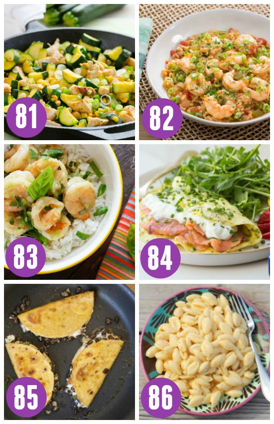 One Pot Summer Suppers
