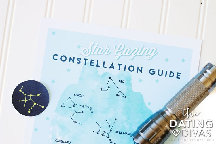 S'mores Under Stars Constellation Chart