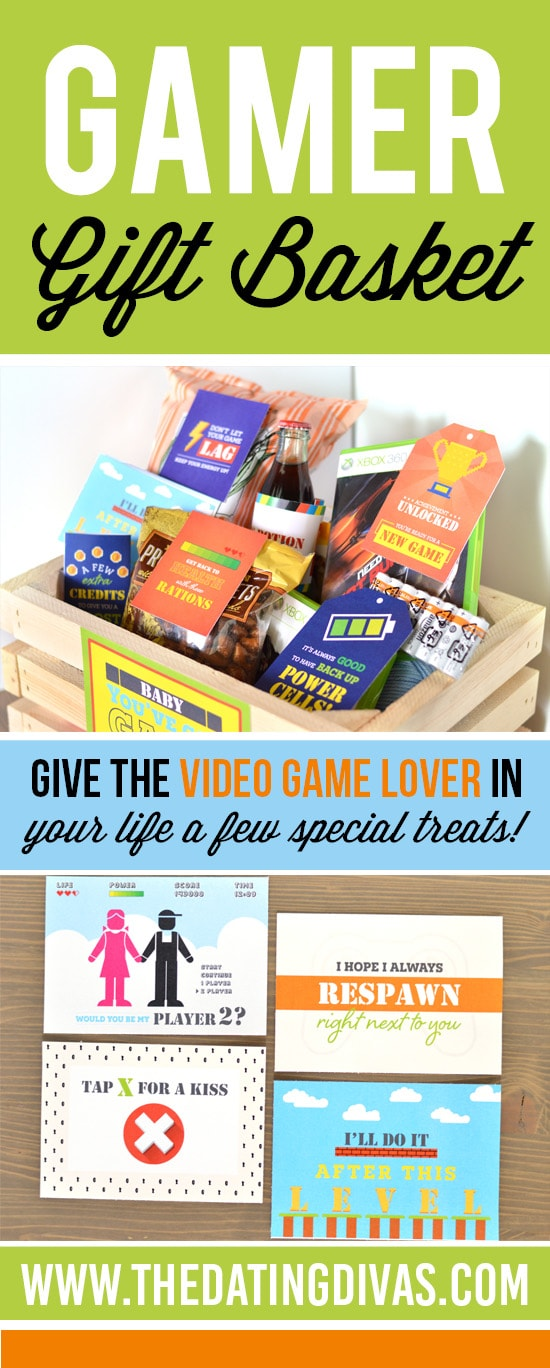 Video Game Gift Basket