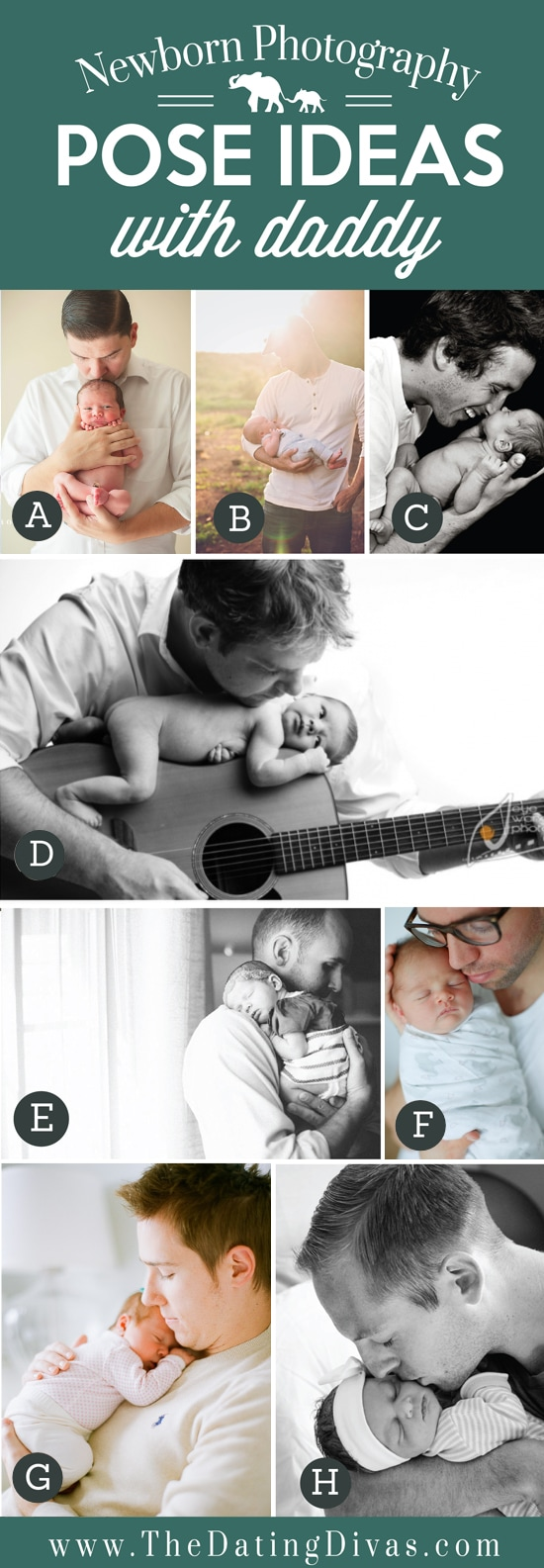 Pose Ideas with Daddy