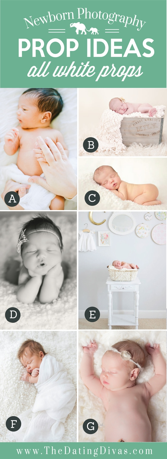 50+ Tips and Ideas for Newborn Photography - From The Dating Divas