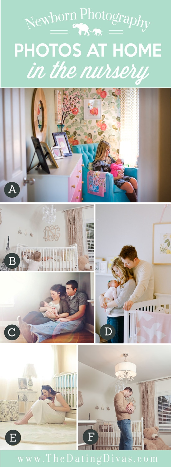 Newborn Photos in the Nursery