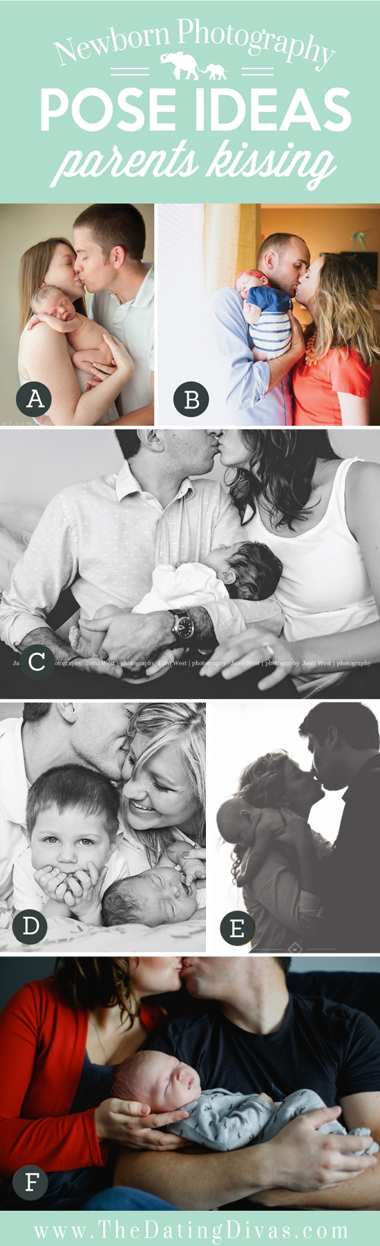Pose Ideas Parents Kissing