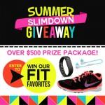 Summer Slimdown Giveaway